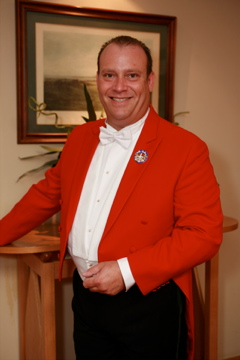 Toastmaster Robert Persell